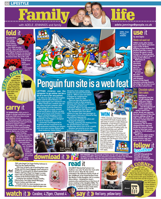 Published in The Sunday People, April 22, 2012