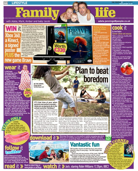 Published in The Sunday People, July 22, 2012