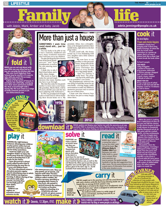 Published in The Sunday People, June 24, 2012