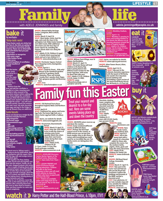 Published in The Sunday People, April 1, 2012