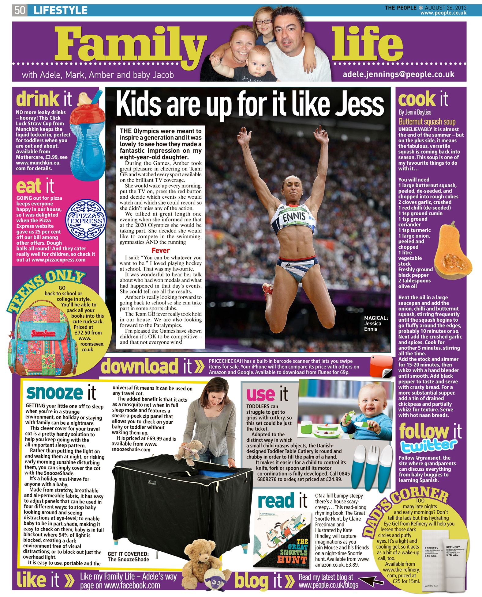 Published in The Sunday People, August 26, 2012
