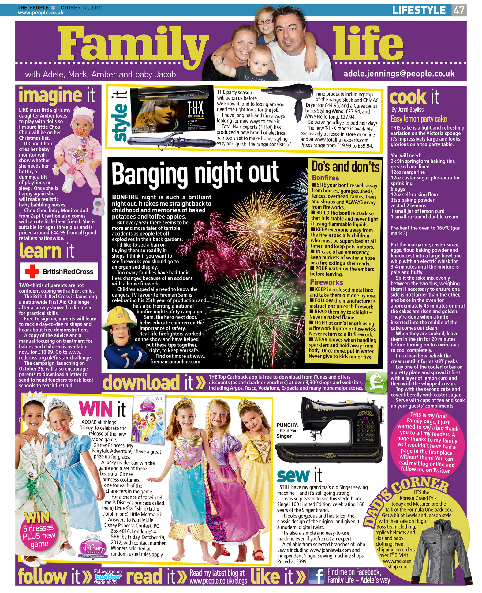 Published in The Sunday People, October 14, 2012