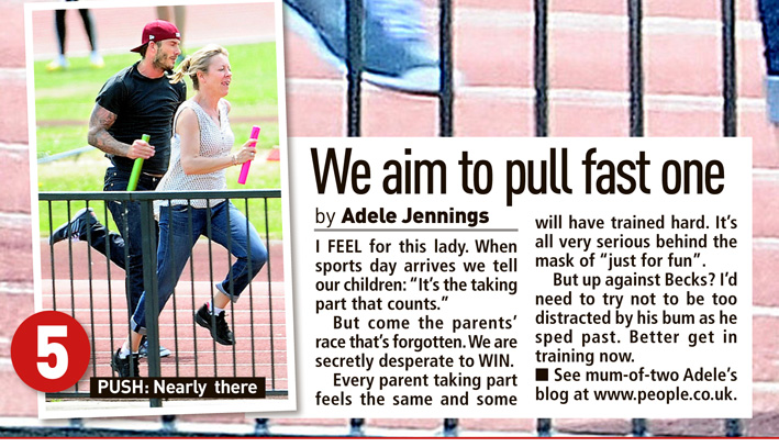 Published in The Sunday People, July 7, 2013