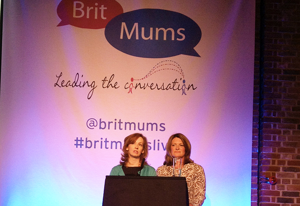 BritMums founders Susanna Scott and Jennifer Howze