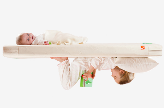 The Twist Natural Mattress from The Little Green Sheep