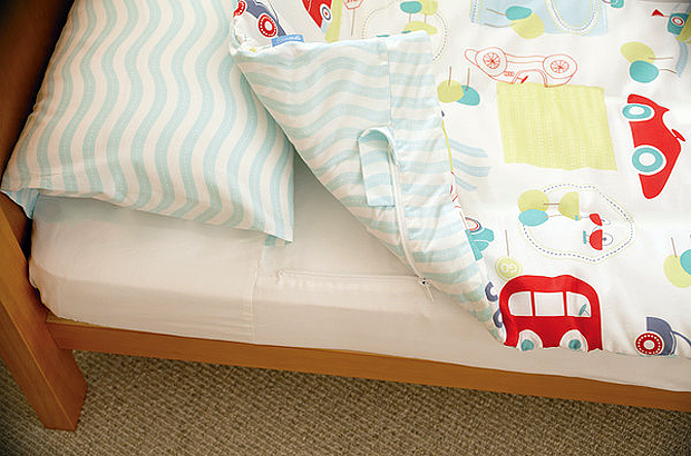 The Gro To Bed bedding set from The Gro Company