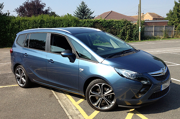 Road testing the Vauxhall Zafira Tourer