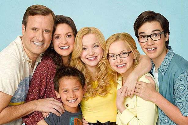 The family in Liv & Maddie