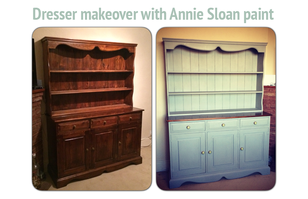 A Welsh Dresser Using Annie Sloan Paint