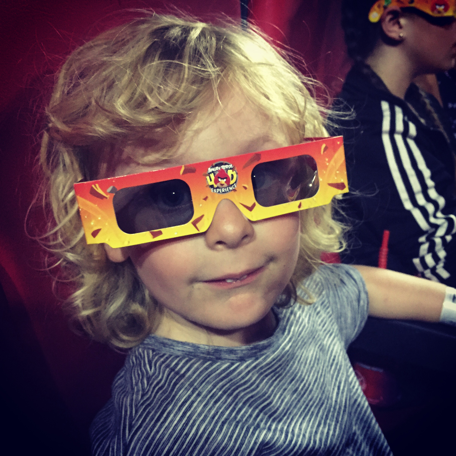 Jacob didn't like the Angry Birds 4D experience