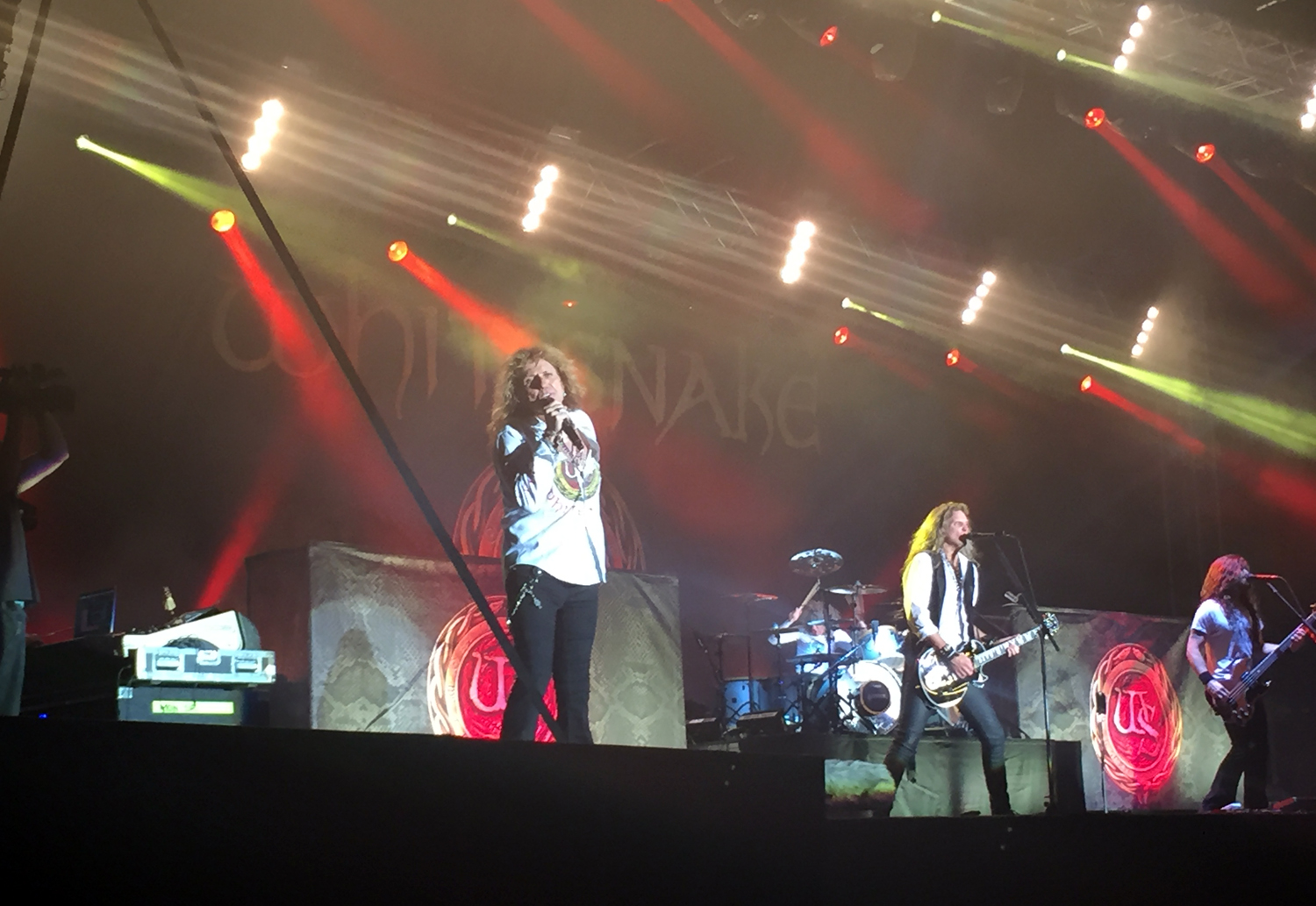 Saturday's headliner Whitesnake at Ramblin' Man Fair
