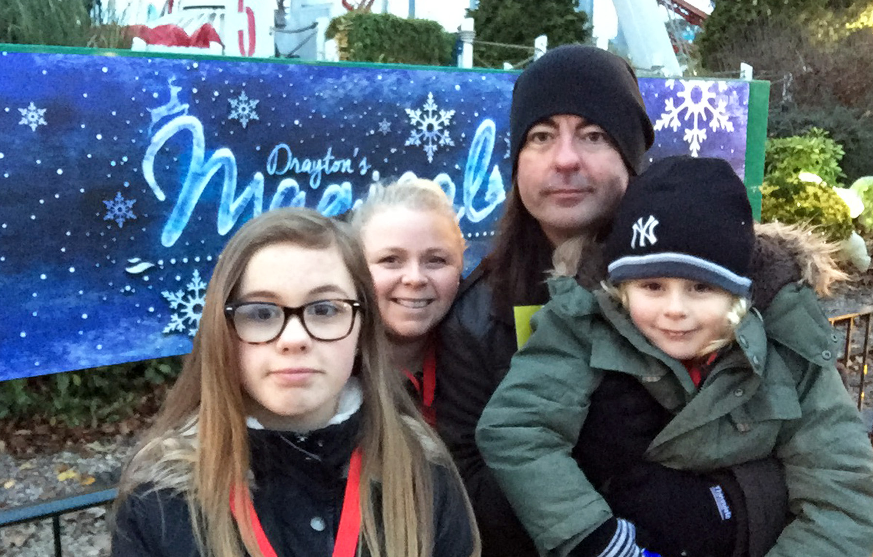 The Jennings family at Drayton Manor