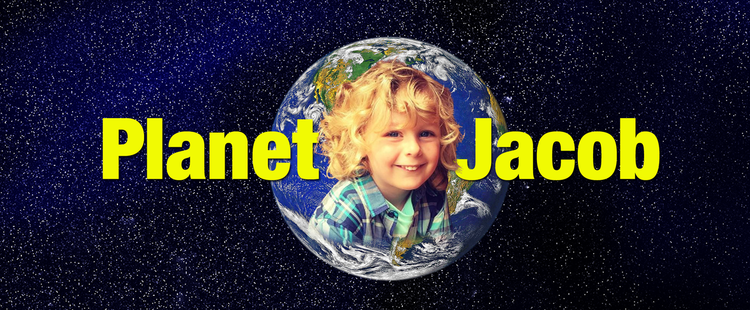 Jacob loves recording video on his Planet Jacob YouTube channel