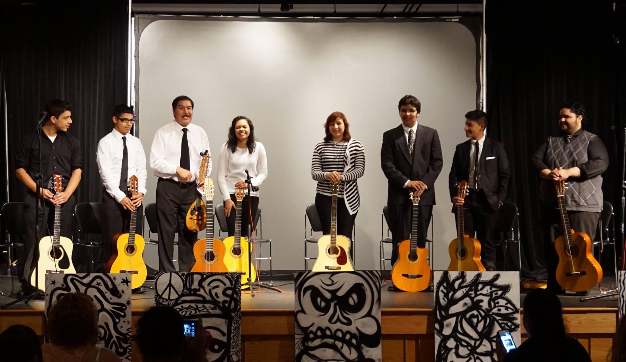 Cuerdas Clasicas Ozorio Academy Students