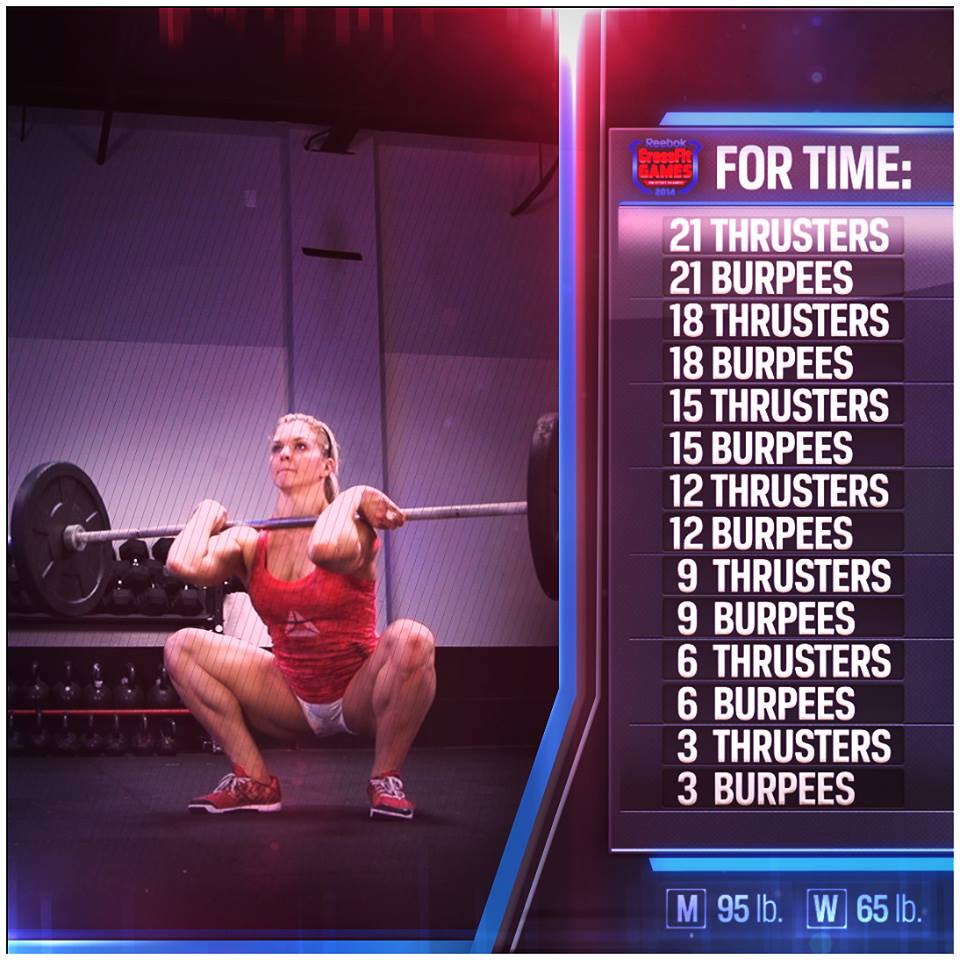 Come drop in at CrossFit HYPE in East Boca to give 14.5 a try! last workout of this open season.. So lets get after it