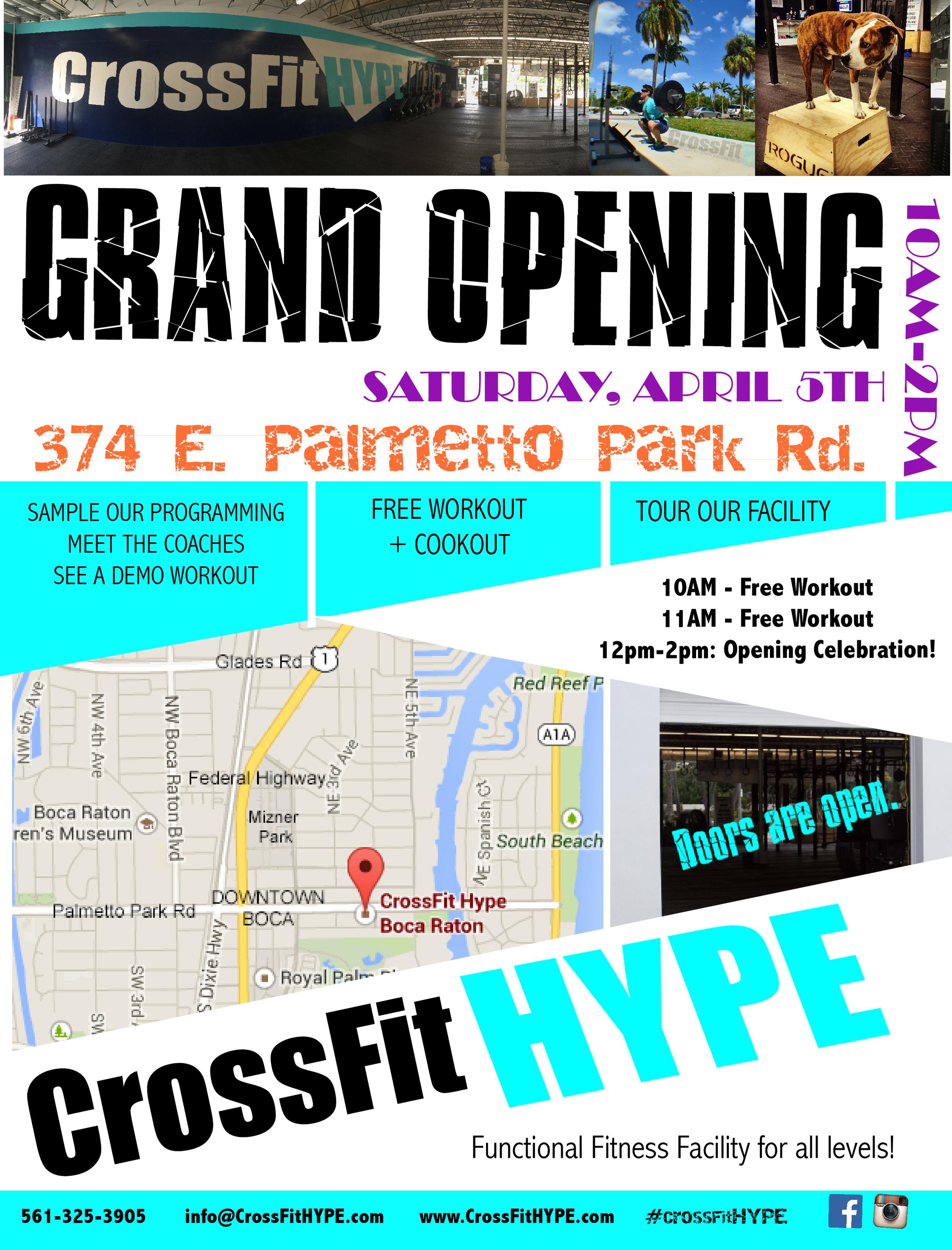 CrossFit HYPE, East Boca Raton's premier fitness facility.