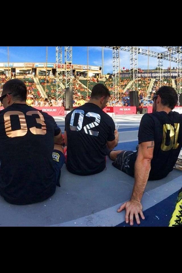 Rich Froning Jason Khalipa Mat Fraser CrossFit Games Hype East Boca Raton Florida Mizner Park Palmetto Beach