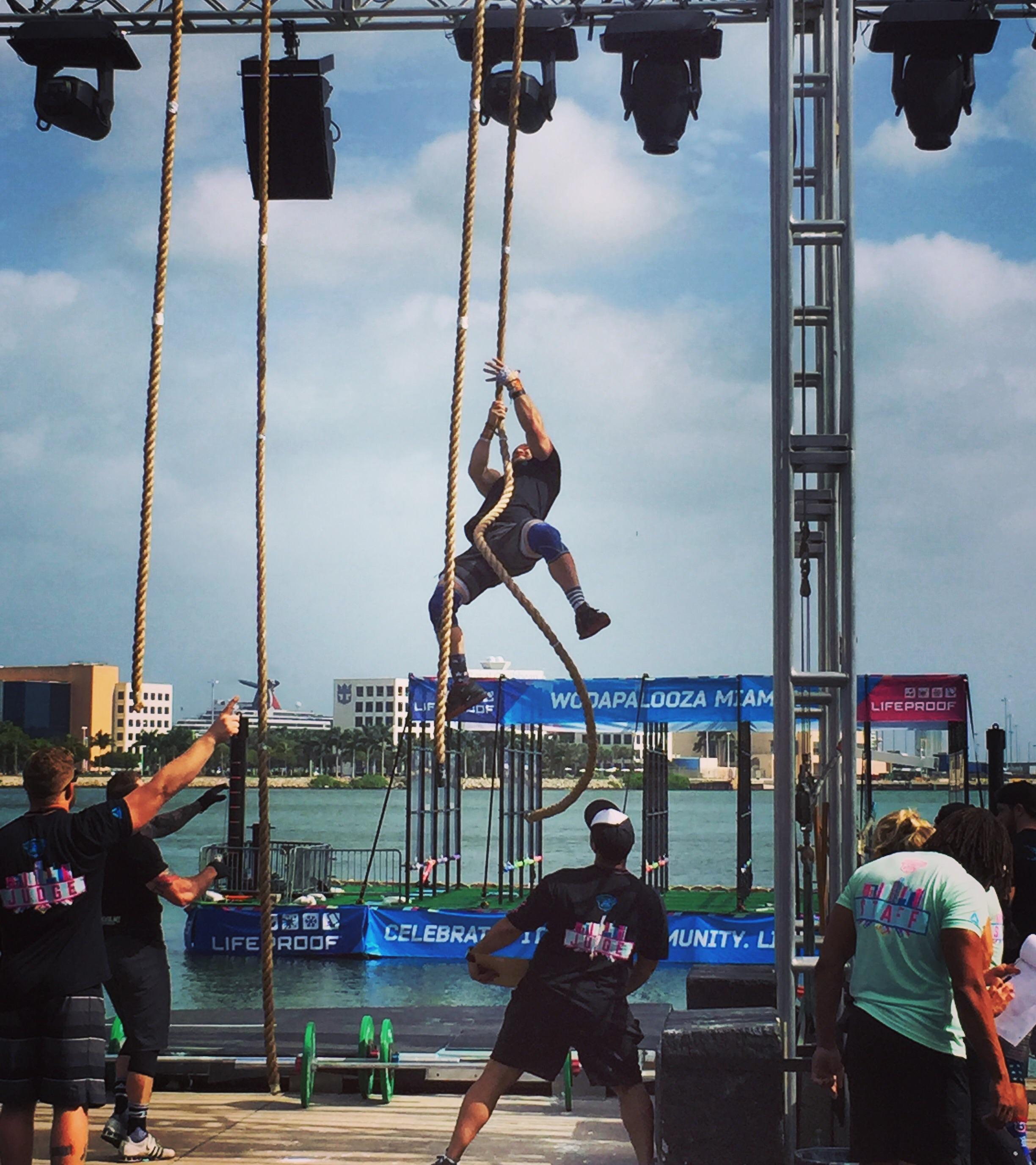 David Stevens, CrossFit HYPE, top 30 RX @ wodapalooza