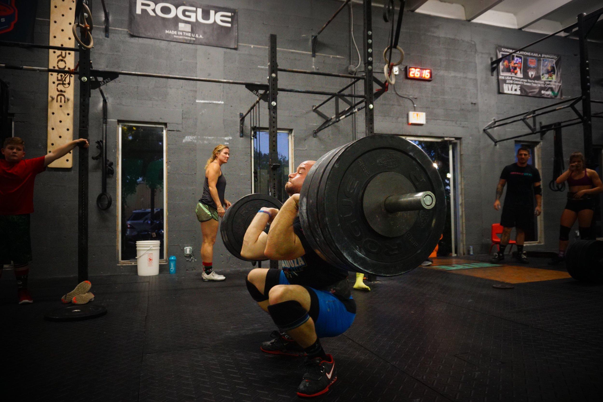 David Stevens - CrossFit HYPE coach / athlete