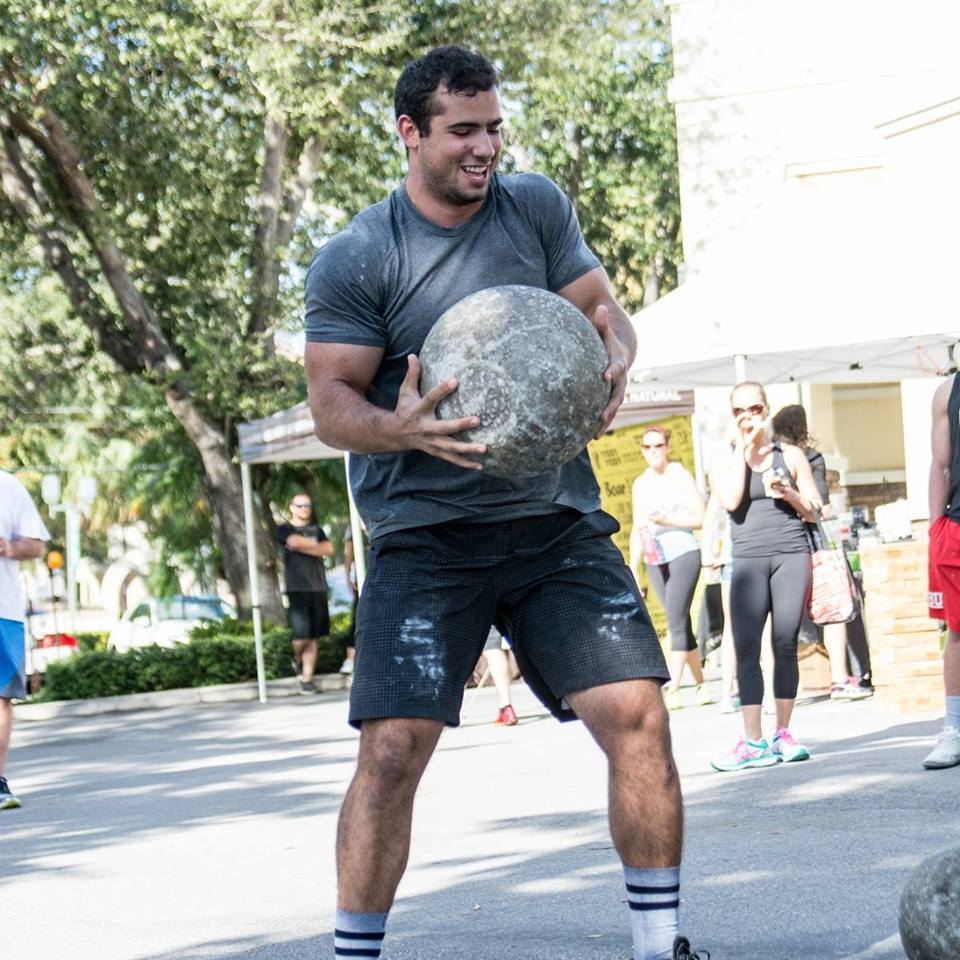 Nick Sautter CrossFit HYPE strongman East Boca Powerlifting power Olympic lifting teens fitness bootcamp
