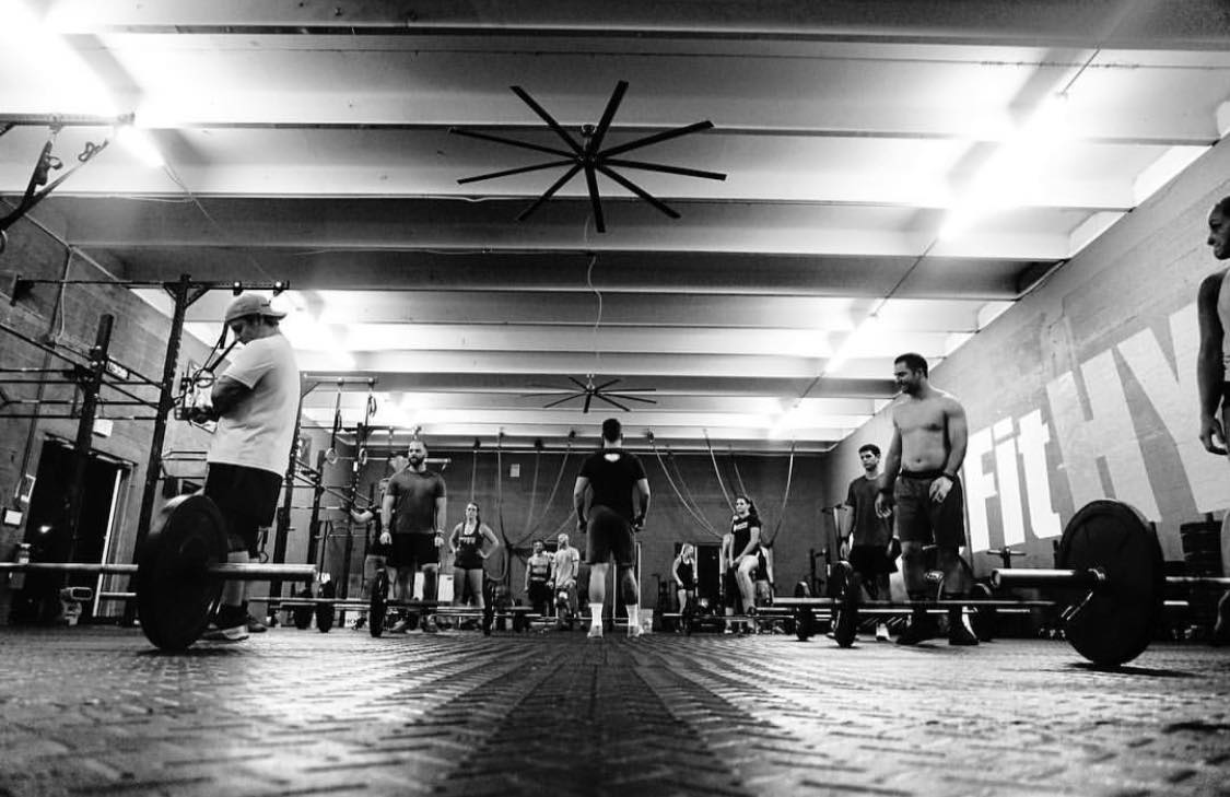 - Proper modification and proper scaling options prescribed by our coaches is what allows us to train together. But we do that EXACTLY... Coaches, athletes, members, moms, dads, kids, all train together. Ironic how that is what pushes HYPE to be different... togetherness.