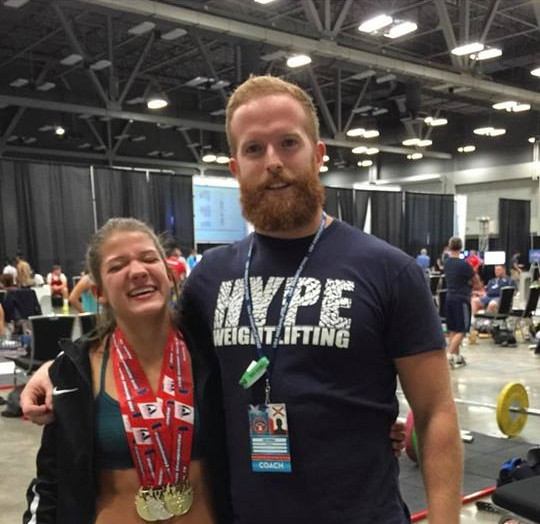 Rob Kaela Coaching medals 4.jpg