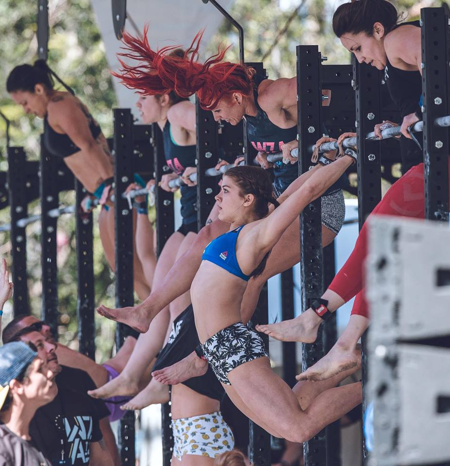 Kaela Stephano WZA wodapalooza fitness festival crossfit hype east boca raton 2018 muscle up.jpg