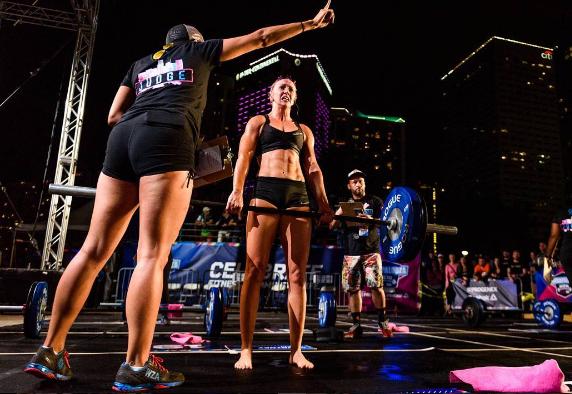 Tara Demers CrossFit HYPE East Boca Raton Florida Wodapalooza WZA fitness festival gym deadlift bayfront competion