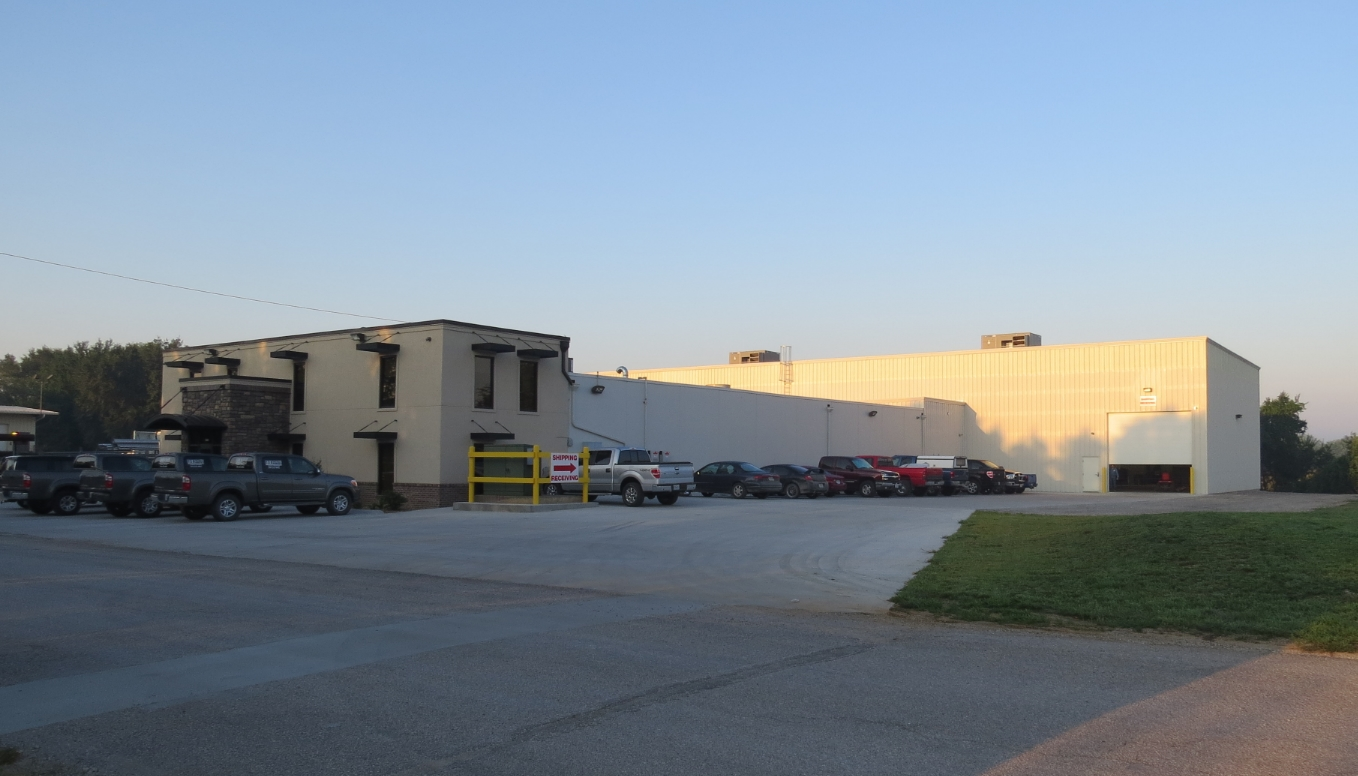 GMF-Gloggner Metal Fabricators new 20,000 square foot expansion and office remodel.