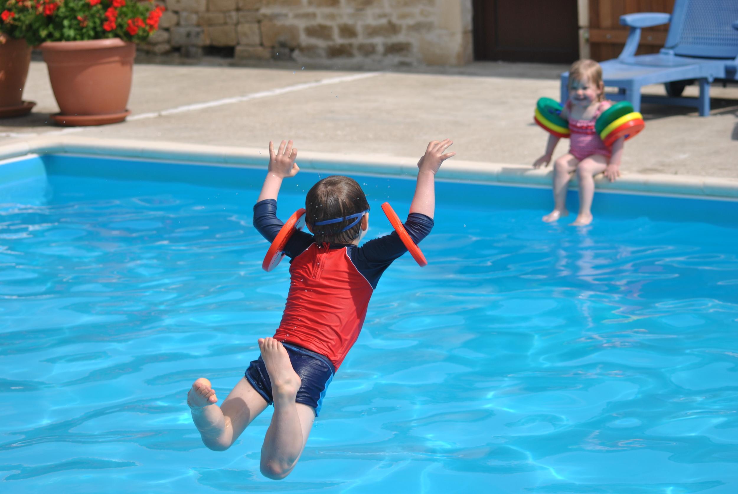 Fun in the pool.JPG