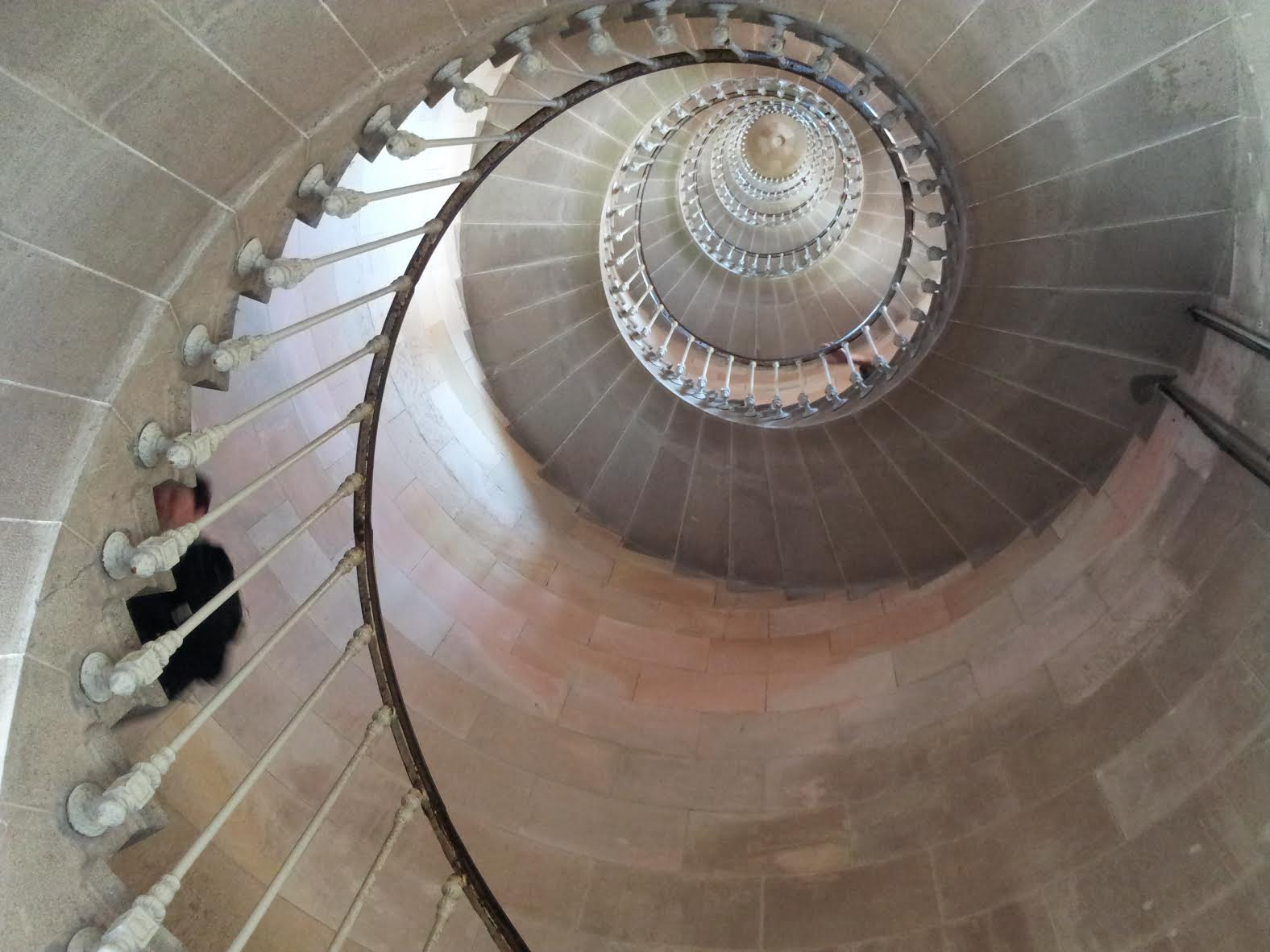 Ile de Re lighthouse staircase.jpg