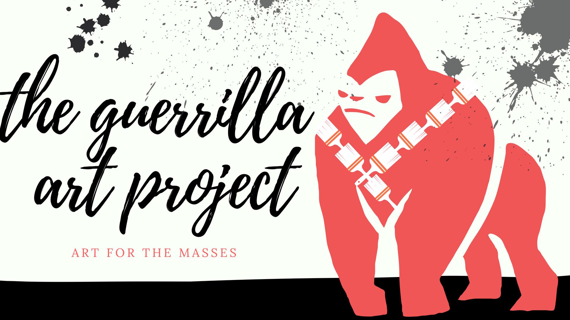 Guerrilla Art Project Logo