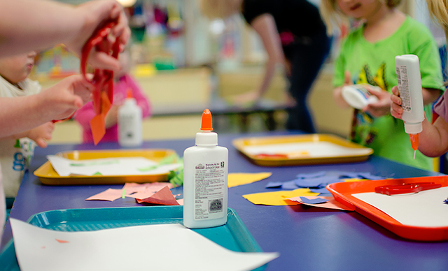 Activities encourage creativity, self-expression and fun.