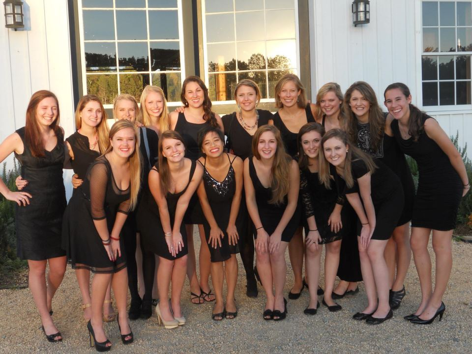 We sing for a HIT alumni at her wedding!