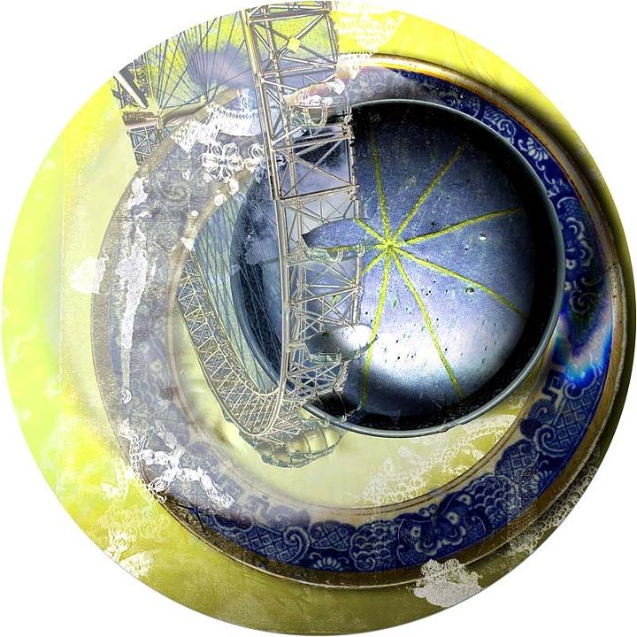 "XVII from the ""dot dot dot"" Series, 2010"