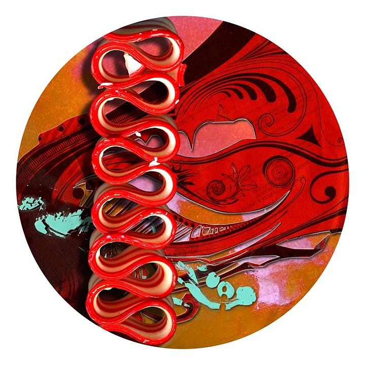 """IX from the """"dot dot dot"""" Series, 2010"""
