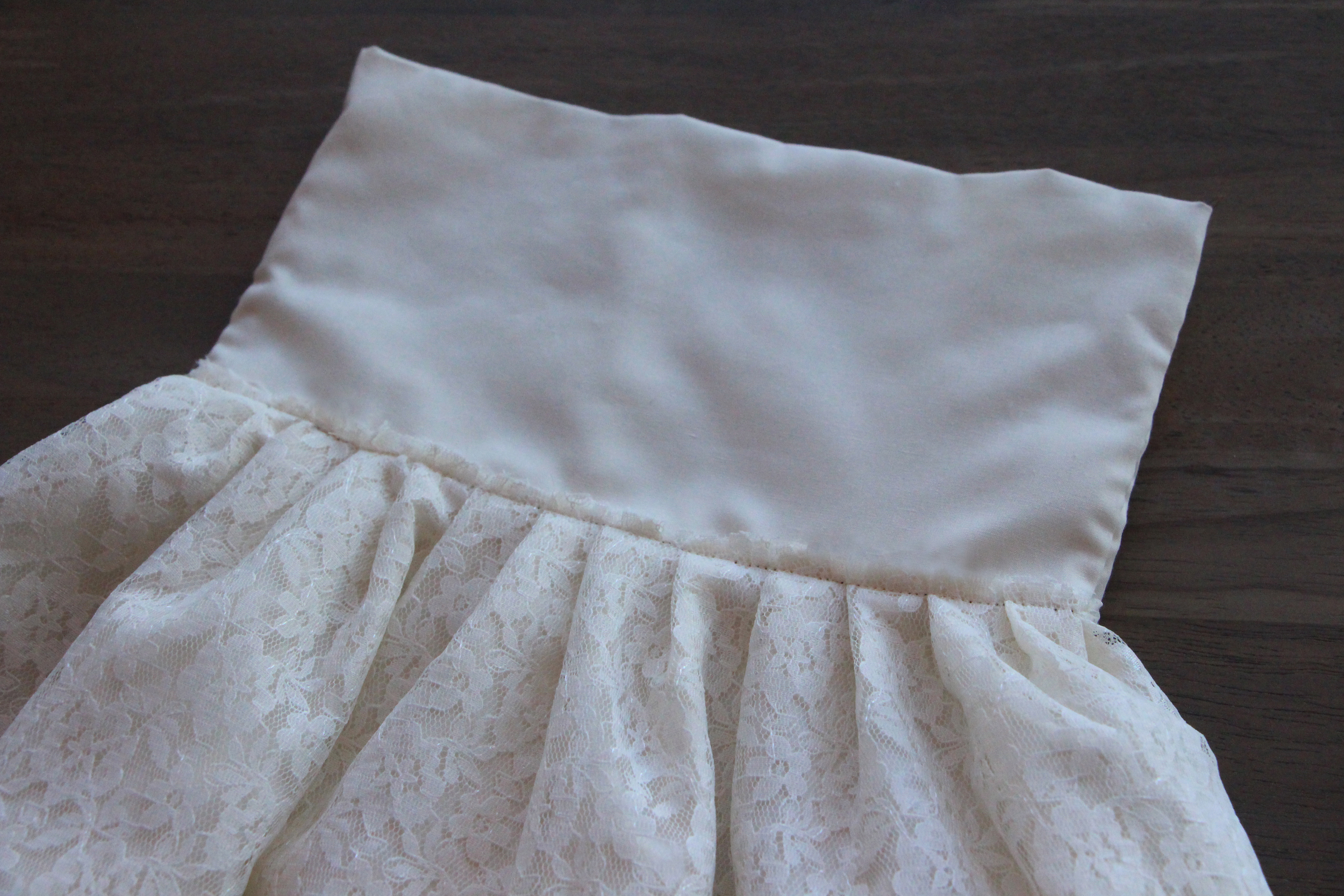 DIY Girls Lace Dress