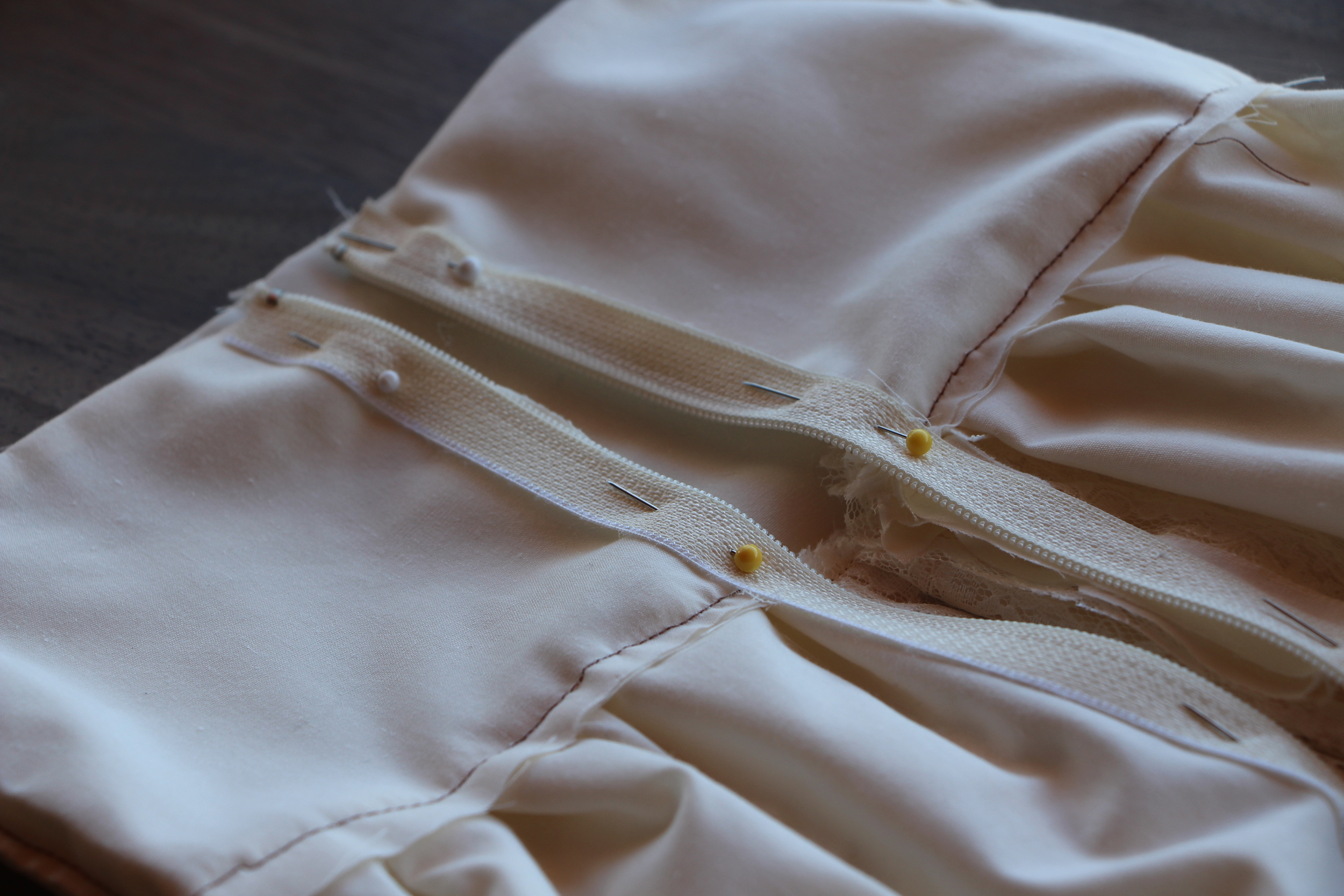 DIY Girls Lace Dress