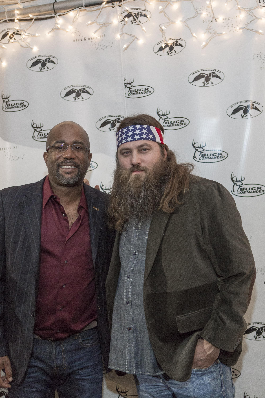 Darius Rucker & Willie Robertson