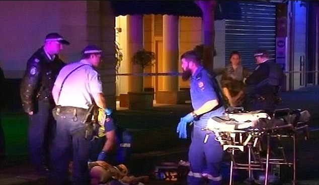 On one of the nights Meggie Barr - Thomas Kelly's cousin - volunteered with Take Kare Safe Space, she and Salvation Army employee Laura found a bloodied man lying a gutter about 3.45am on August 2