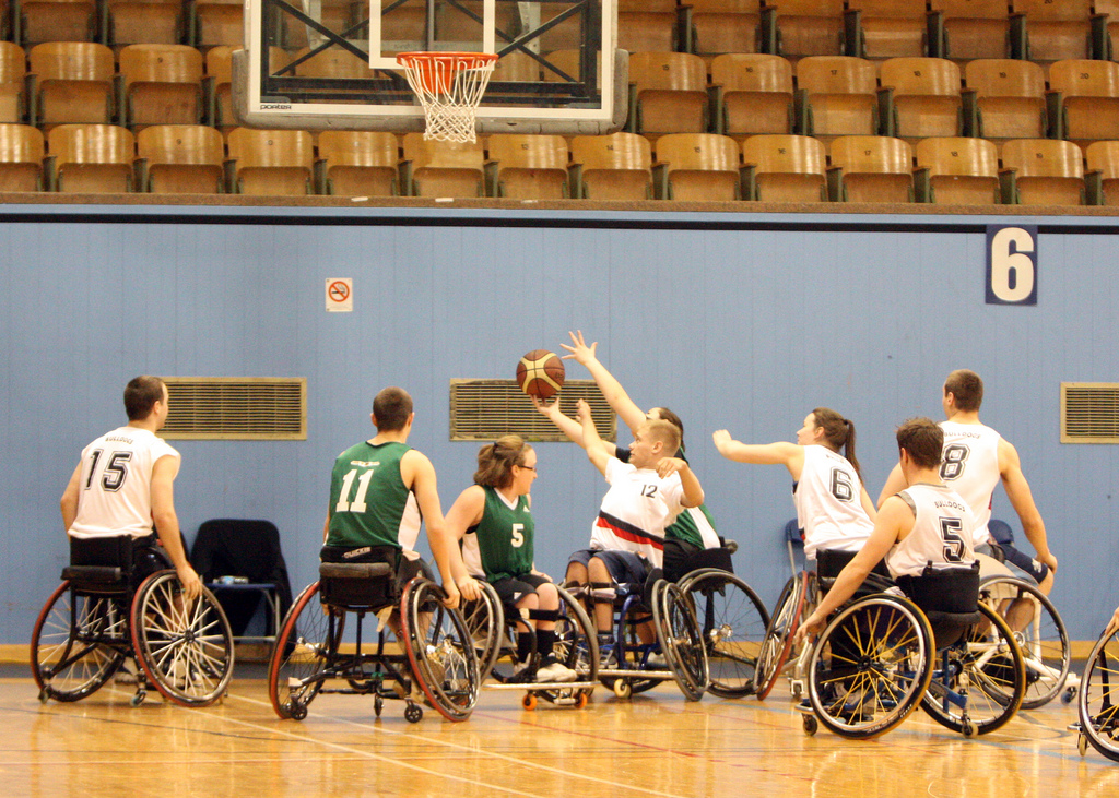 Bulldawgs wheelchair basketball starts Thursday September 12 8:30-10:00pm at TCC