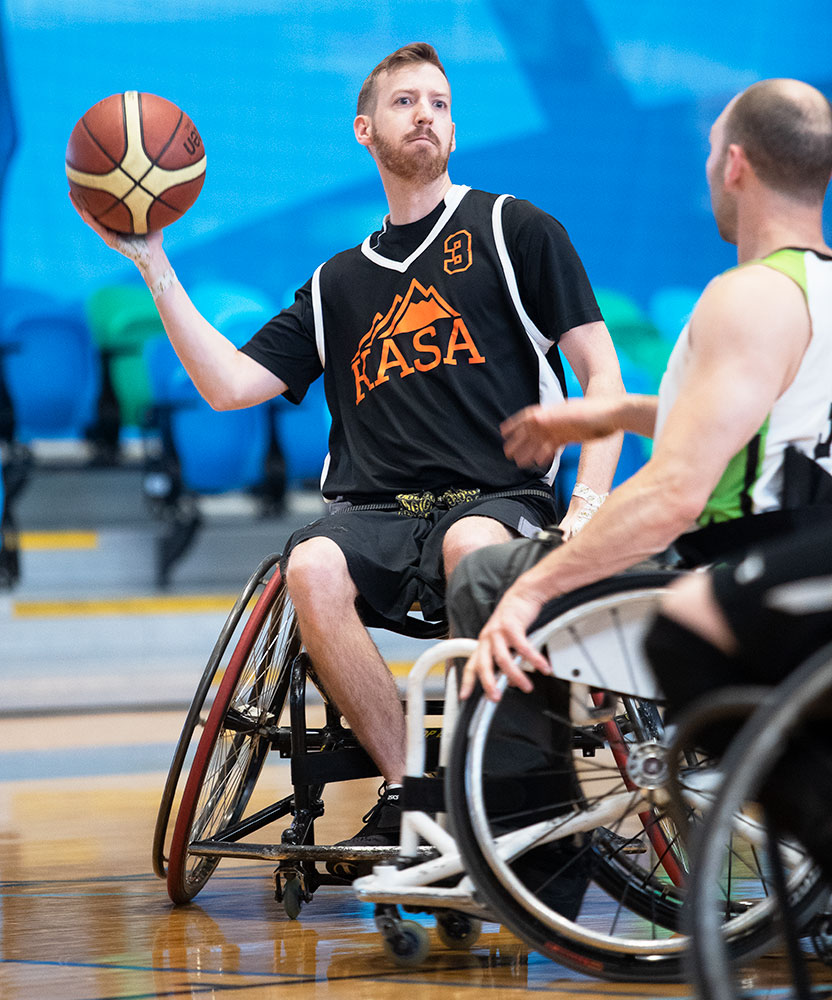 KAMLOOPS ADAPTED SPORTS ASSOCIATION WELCOMES YOUR TEAM ENTRY IN HOOPFEST 2019 - There are many benefits to entering a team in HOOPFEST KAMLOOPS 2019. These include; a unique team-building opportunity for your organization in a fun, welcoming atmosphere, increased community citizenship, excellent networking opportunities with Kamloops professionals, and a chance to try the most popular adapted sport in the world in a well organized, well officiated event.