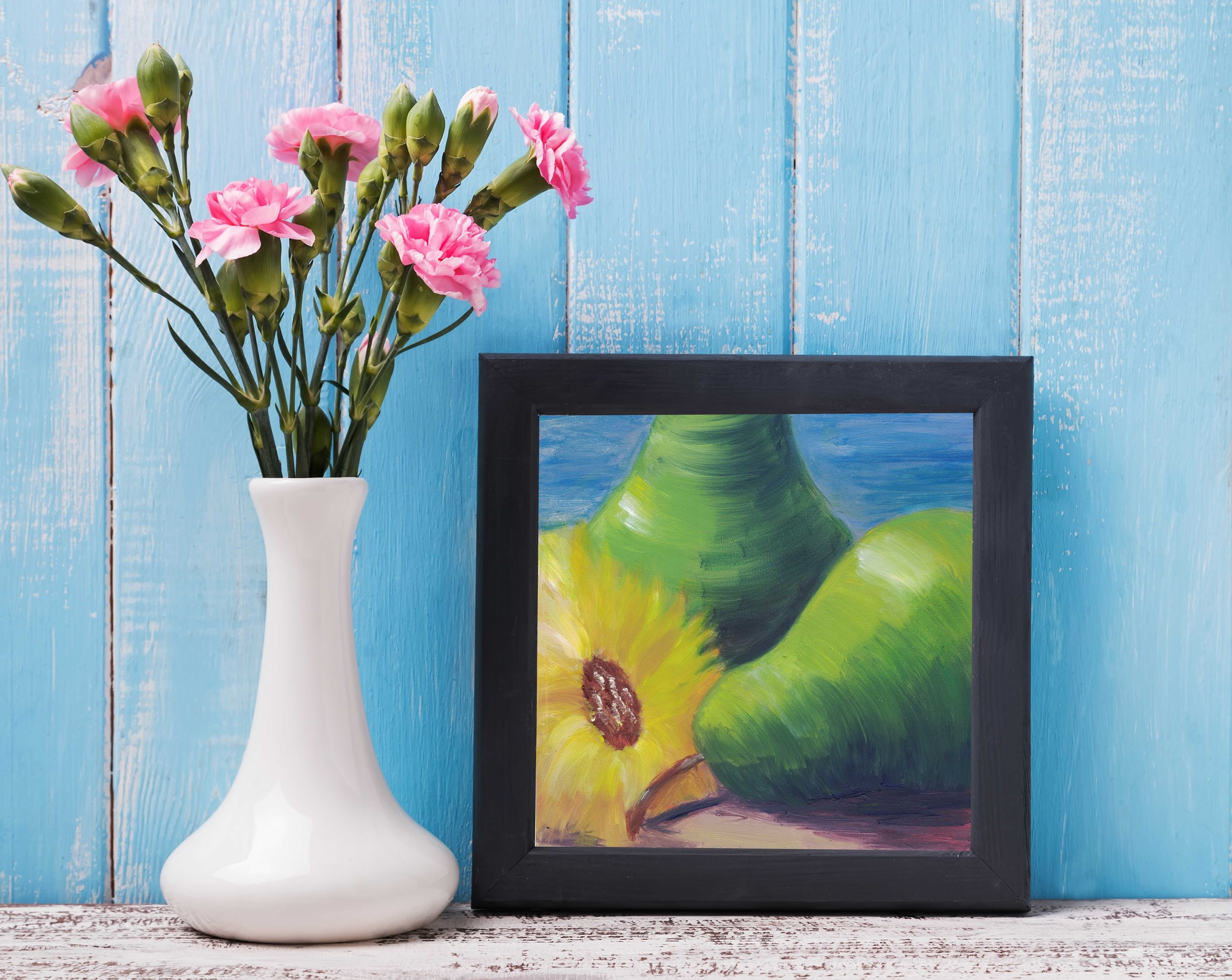 Two Pears and a Flower 5.jpg
