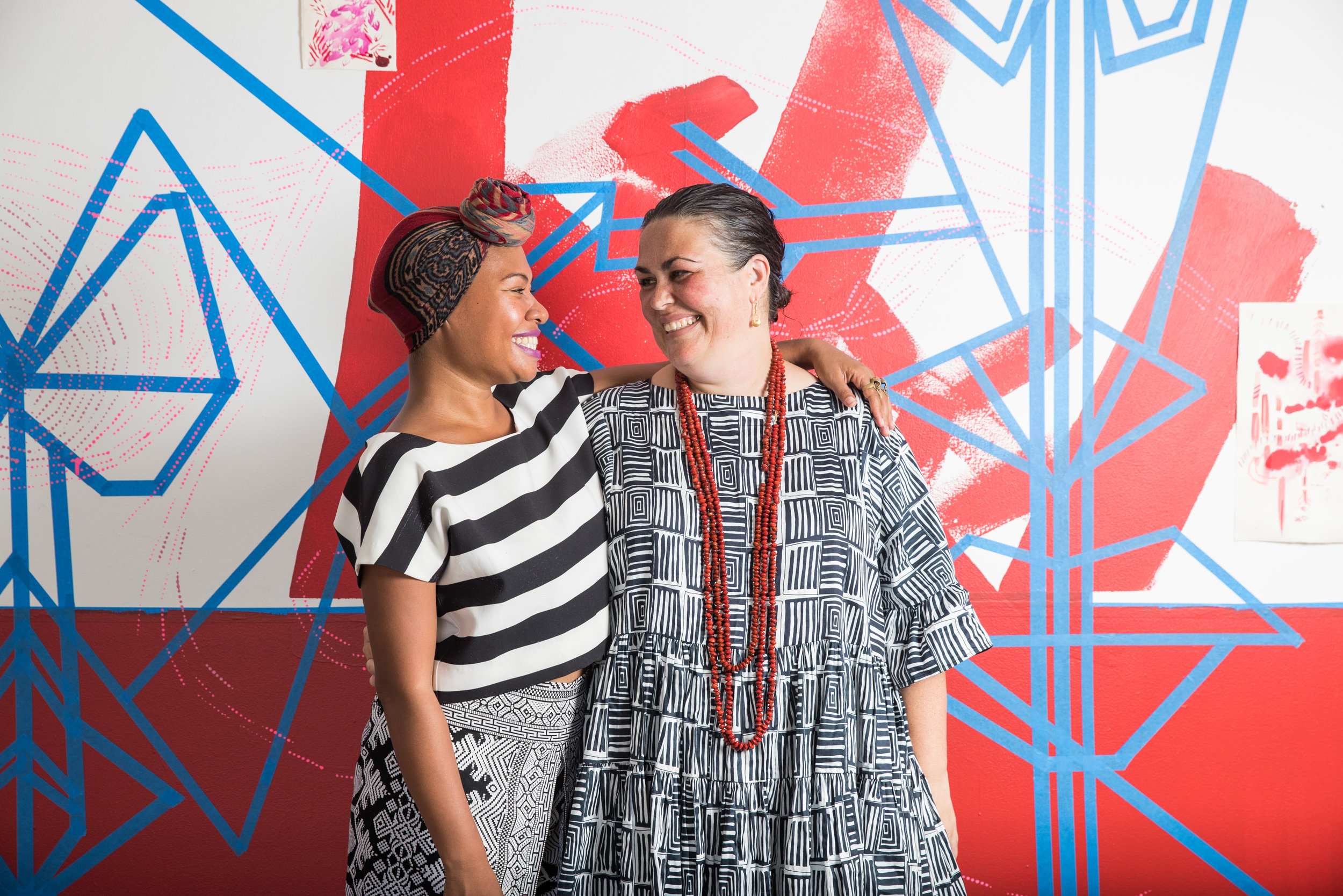 """Lisa Waup reflected on the Residency in Off the Leash magazine - """"It was a very intense time and such a soul revealing topic, yet what unfolded that week was truly magical and a great test within myself, and Weniki also"""""""