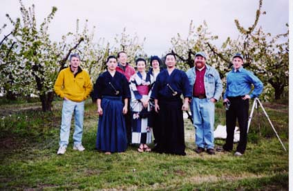 "First weekend of shooting ""Tao of Joy"" near Hood River, Oregon, 2003."