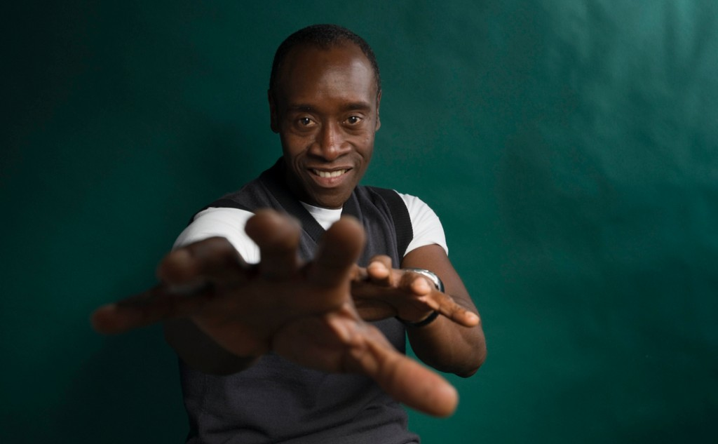 Actor Don Cheadle, whom I've never met but whose name I'll know if I do.