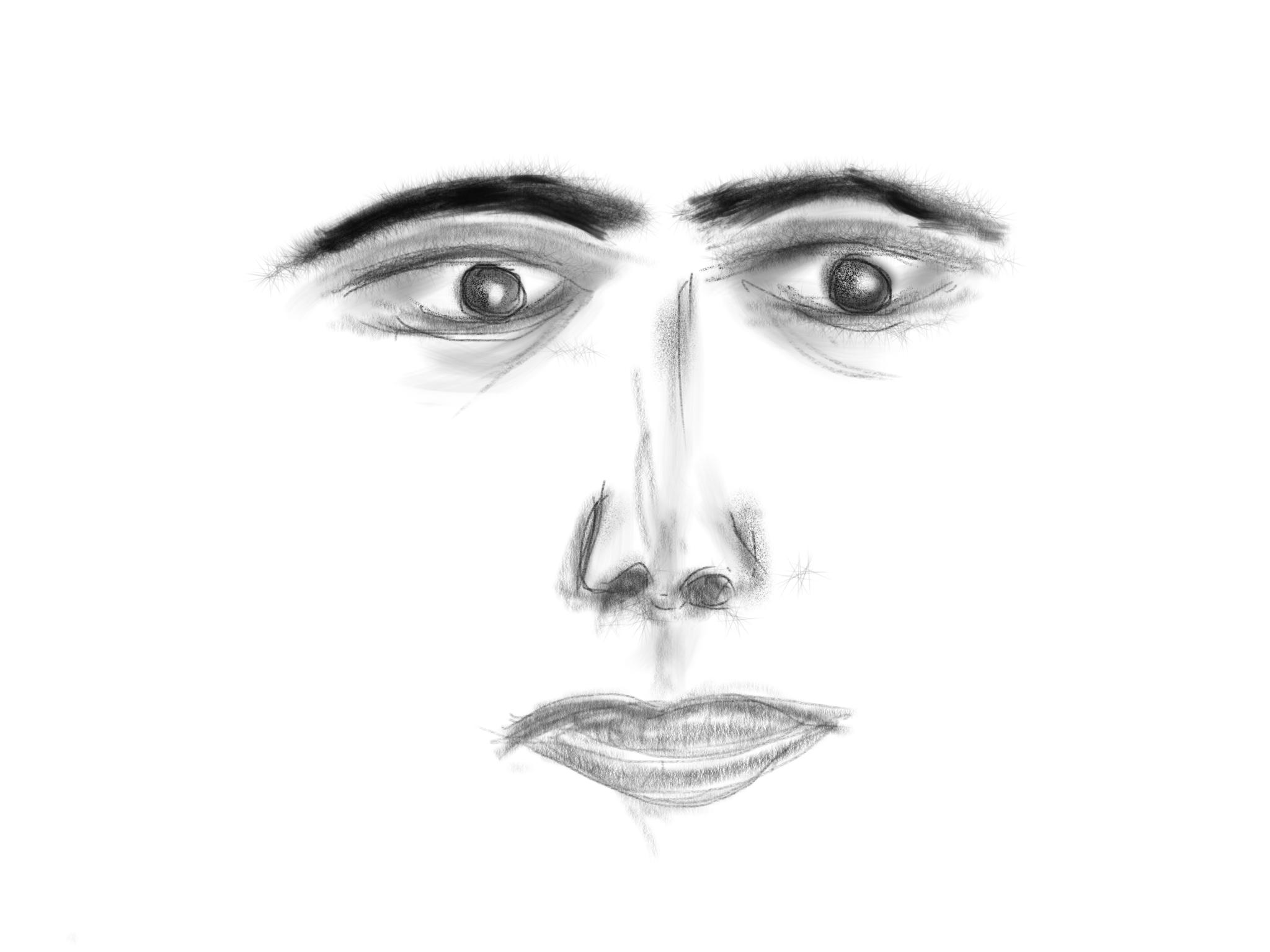 Drawn in Procreate- iPad