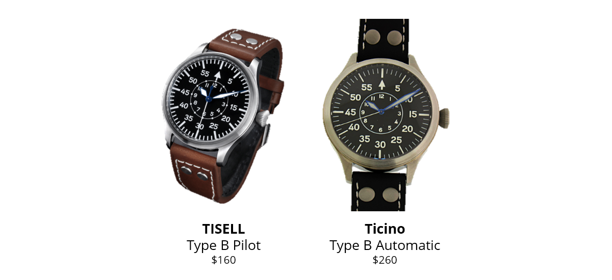 eb28b48b9b8 ... Type B Automatic uses a Miyota movement (their Type B watch from last  year used a Sea-Gull movement but this year they're moving a little  up-market).