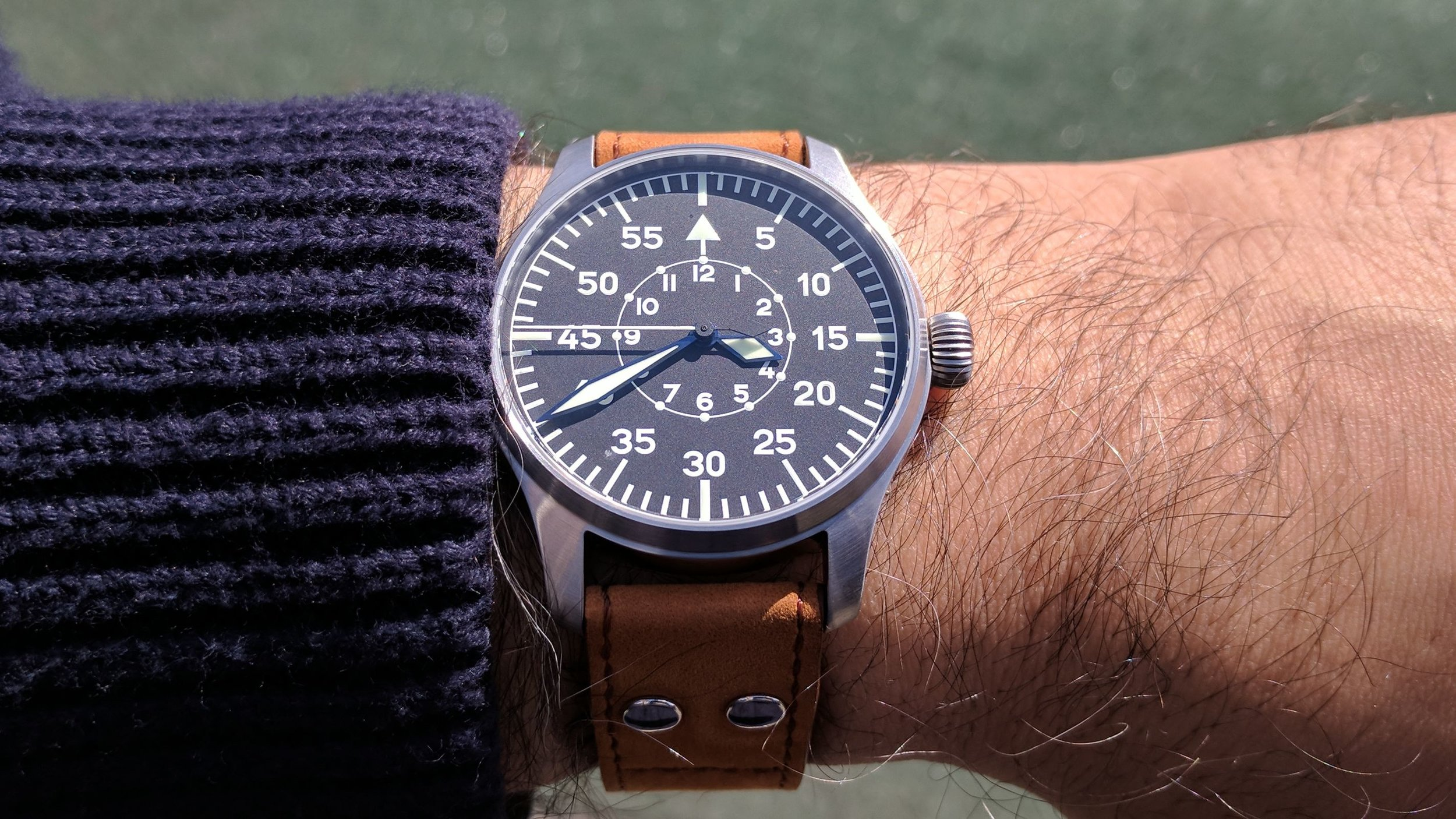 Stowa flieger on my wrist 1.jpg