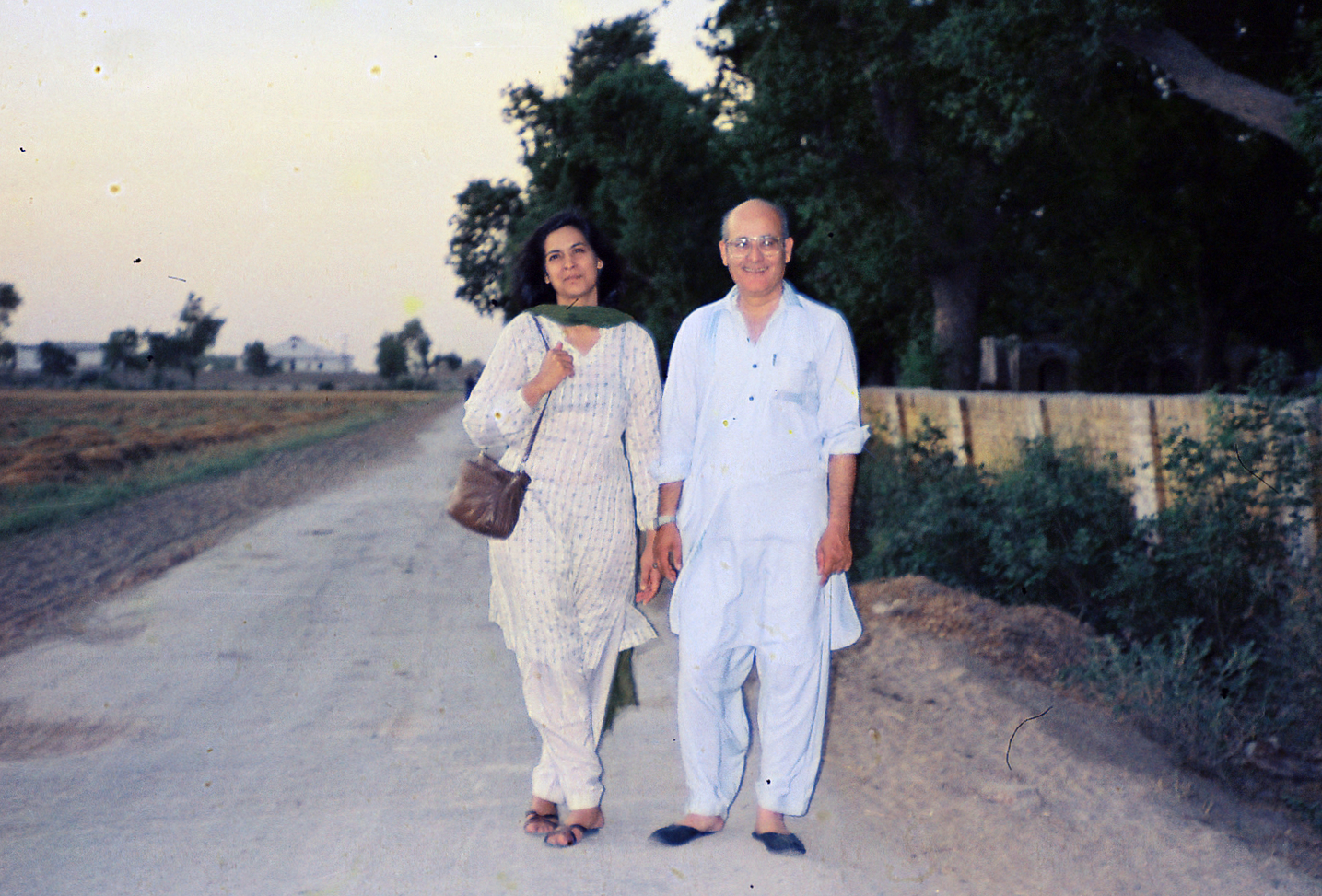 Ami and Abu, some time in the 1980s.